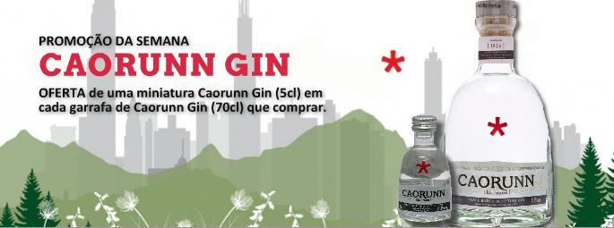 Gin Caorunn Small Batch - com oferta de miniatura