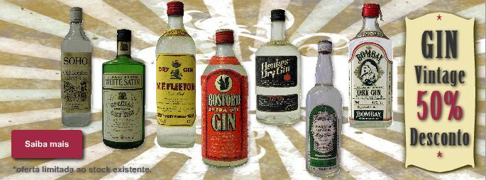Gin Vintage | 50% desconto