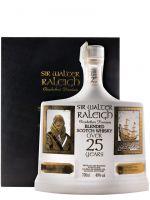 Sir Walter Raleigh 25 anos Elizabethan Premium (garrafa branca)