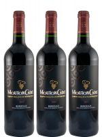 3 Mouton Cadet wines