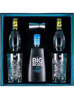 Conjunto Big Boss c/2 Copos + 2 Águas Tónicas