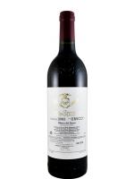2003 Vega Sicilia Único красное