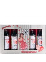 Miniaturas Ginja Mariquinhas Pin Up 4x4cl