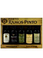 Miniaturas Ramos Pinto 5x9cl Porto (caixa de madeira)