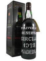 1928 Madeira Wine Sercial D'Oliveiras