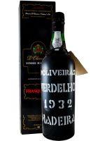 1932 Madeira Verdelho D'Oliveiras