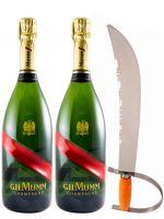 2 Champagnes & Sabre