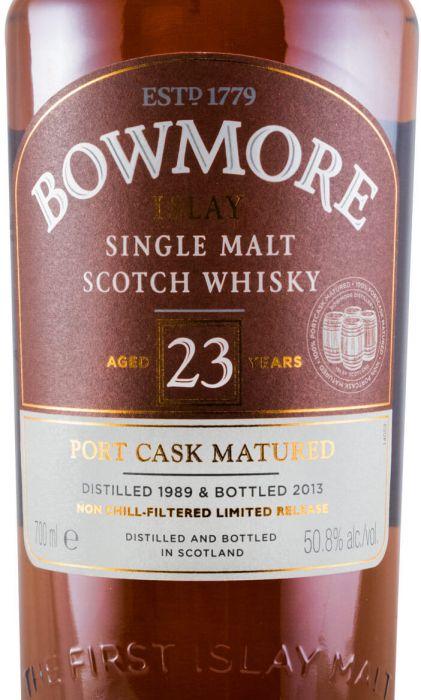 1989 Bowmore Port Cask Matured 23 anos