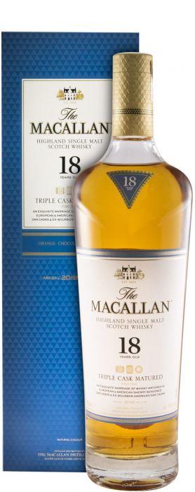 Macallan Triple Cask 18 anos