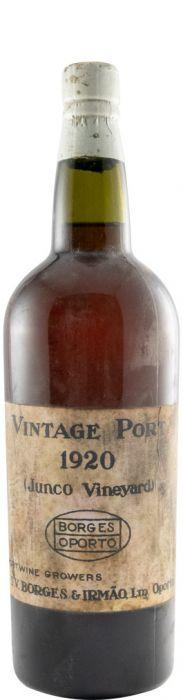 1920 Borges Quinta do Junco Vintage Porto