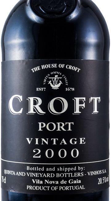 2000 Croft Vintage Port