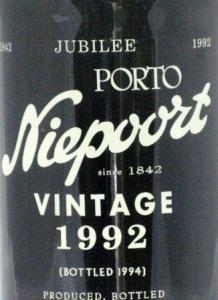 1992 Niepoort Vintage Porto