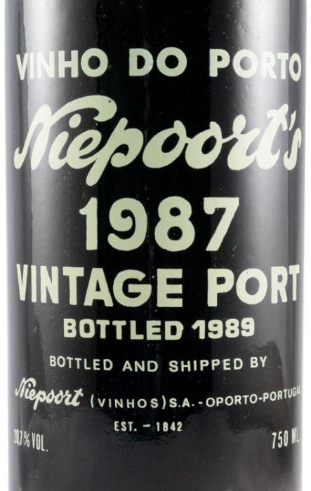 1987 Niepoort Vintage Porto