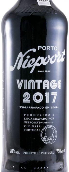 2017 Niepoort Vintage Porto