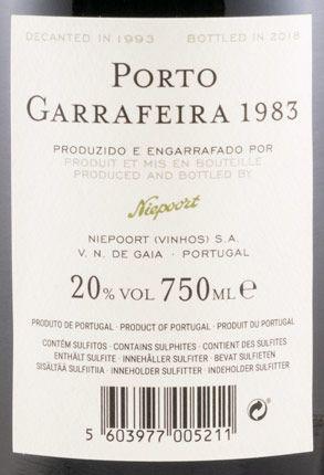 1983 Niepoort Garrafeira Porto