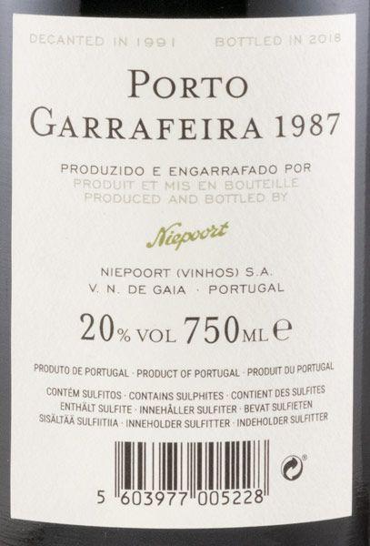 1987 Niepoort Garrafeira Porto