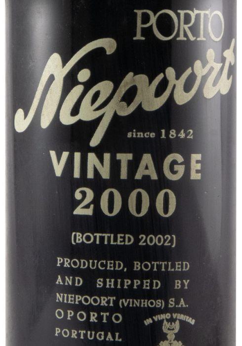 2000 Niepoort Vintage Port 37,5cl