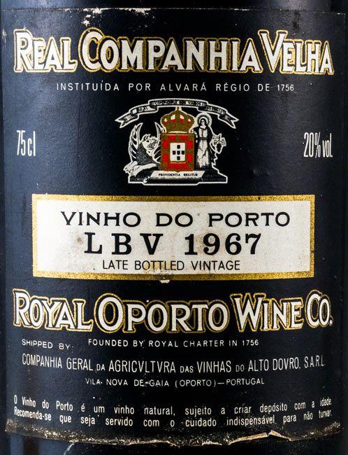 1967 Real Companhia Velha LBV Porto