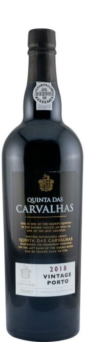 2018 Real Companhia Velha Quinta das Carvalhas Vintage Porto