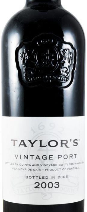 2003 Taylor's Vintage Porto