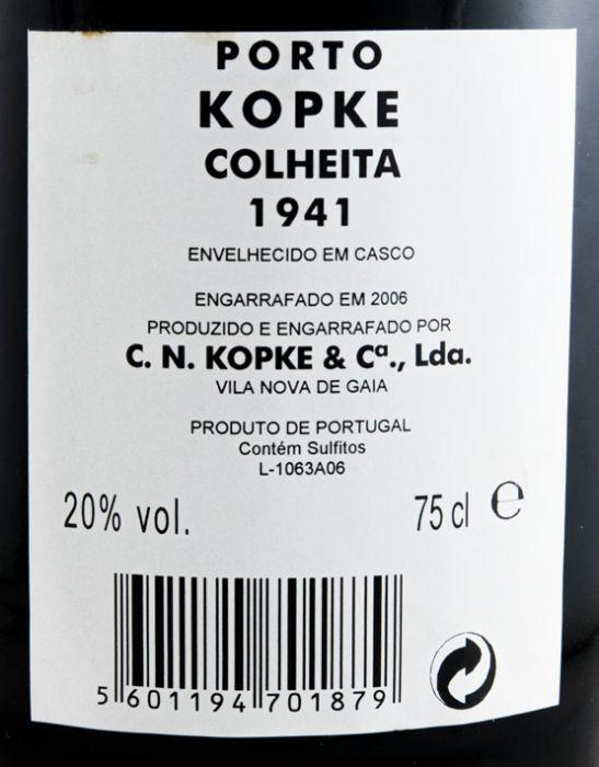 1941 Kopke Colheita Porto