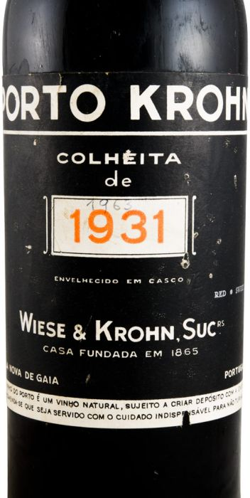 クローン・収穫 ポート 1931年