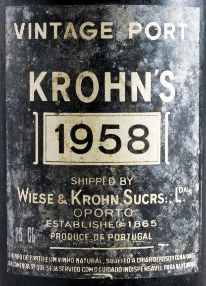 1958 Krohn Vintage Porto