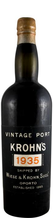 1935 Krohn Vintage Porto