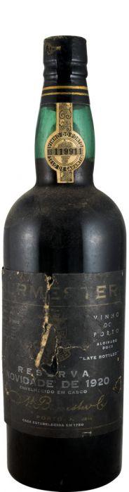 バーメスター・新規 ポート 1920年