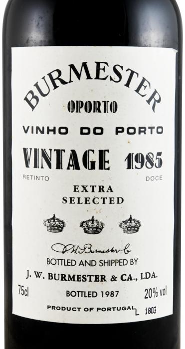 1985 Burmester Vintage Porto