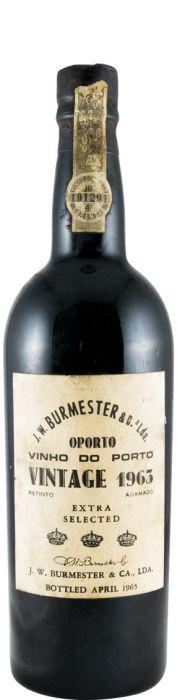 バーメスター・ヴィンテージ ポート 1963年