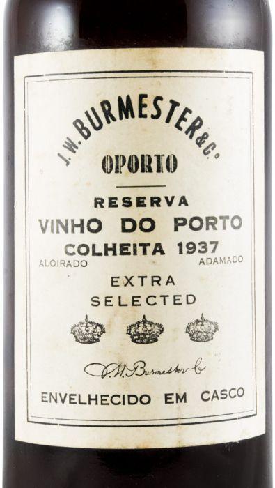 バーメスター・収穫 ポート (古いラベル)1937年