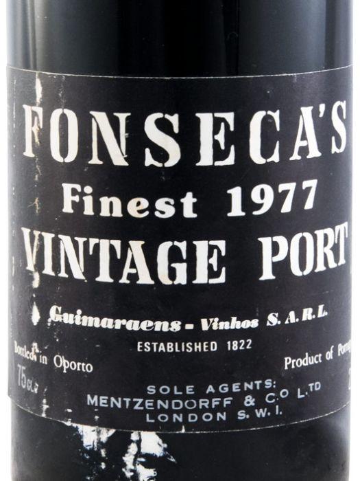 1977 Fonseca Vintage Porto