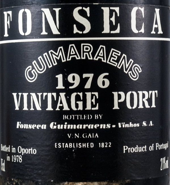 1976 Fonseca Guimaraens Vintage Porto