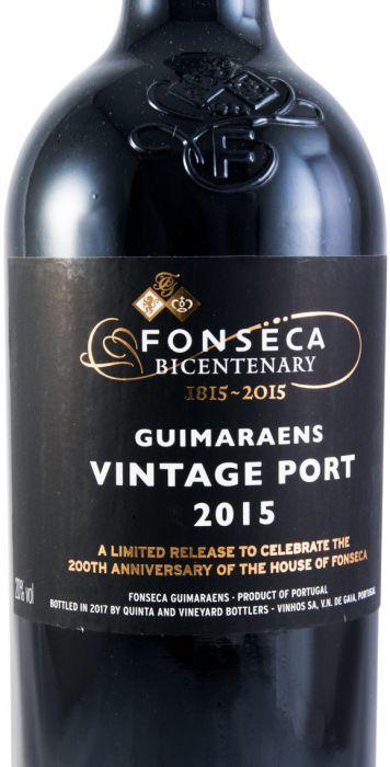 2015 Fonseca Guimaraens Vintage Porto
