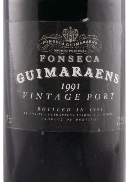 1991 Fonseca Guimaraens Vintage Port 37,5cl