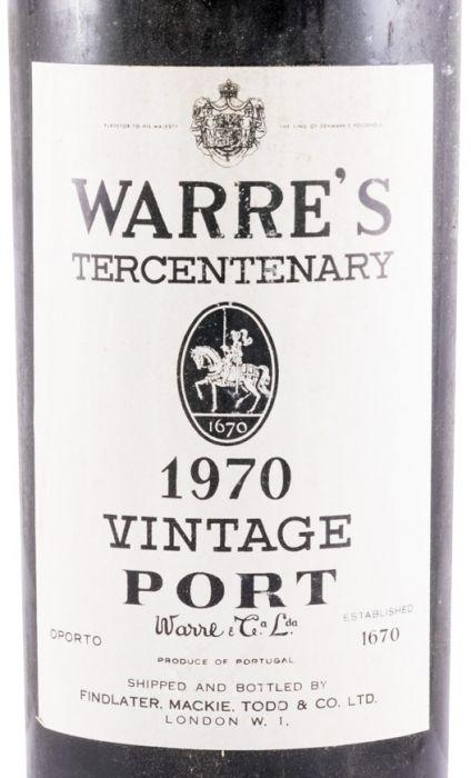 1970 Warre's Vintage Porto