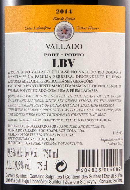 2014 Vallado LBV Porto