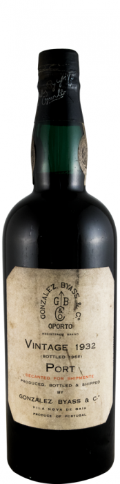1932 Gonzalez Byass Vintage Porto (garrafa alta)
