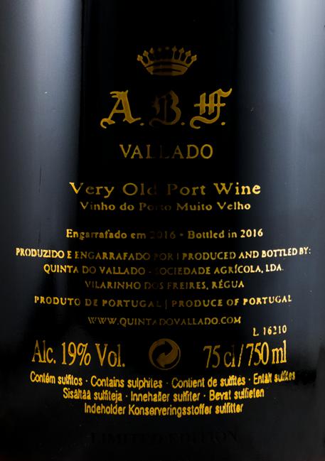 1888 Vallado ABF Very Old Porto
