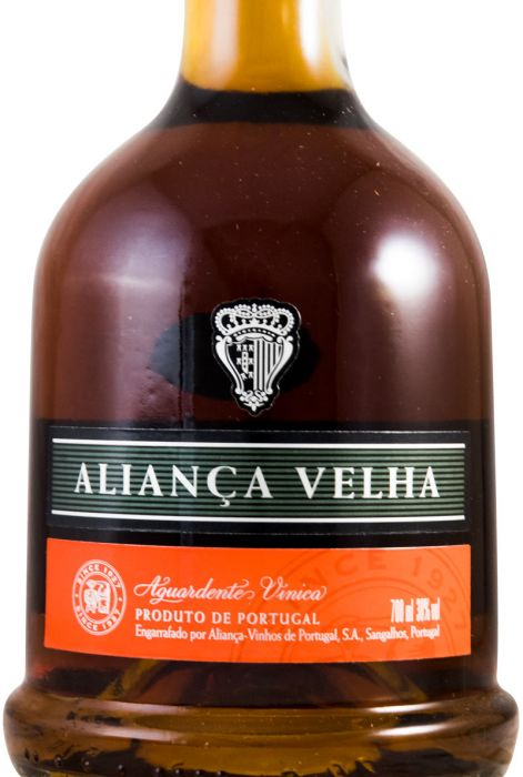 Aguardente Vínica Aliança Velha