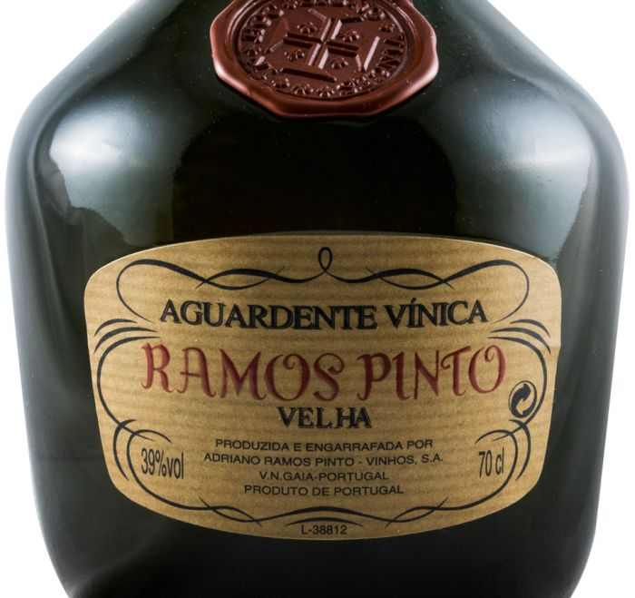 Aguardente Vínica Ramos Pinto Velha