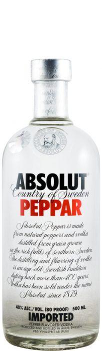 Vodka Absolut Peppar 50cl