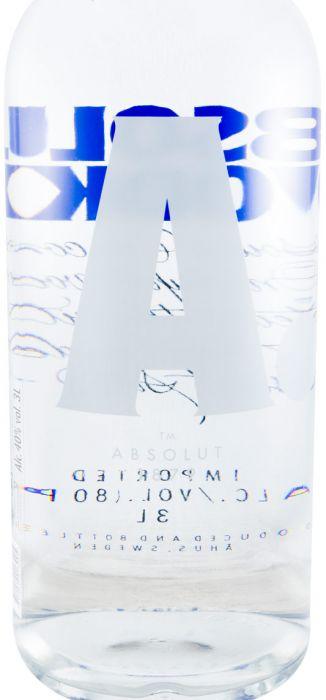 Водка Absolut 3 л