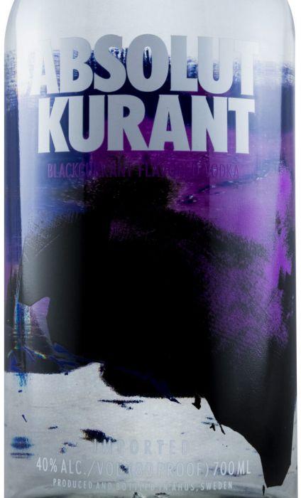 Vodka Absolut Kurant