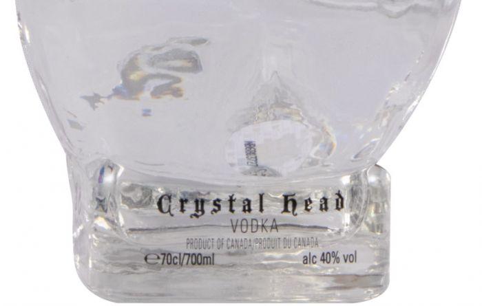 Vodka Crystal Head Rolling Stones