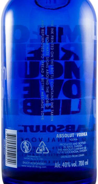 Vodka Absolut A Drop Of Love