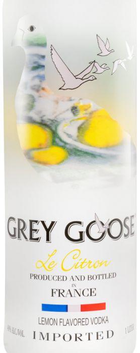 Vodka Grey Goose Citron 1L