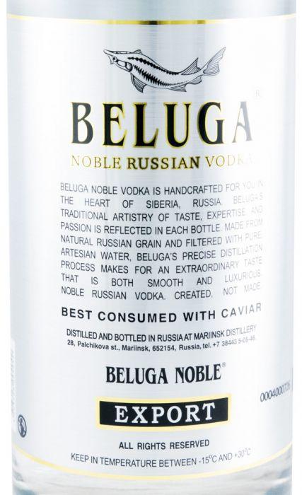 Vodka Beluga Noble Russian w/Glass