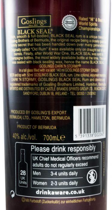 Rum Goslings Black Seal